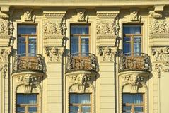 莫斯科,俄罗斯, 2016年11月, 22日 俄国场面:没人,旅馆`全国`的装饰的元素苏维埃前议院  图库摄影