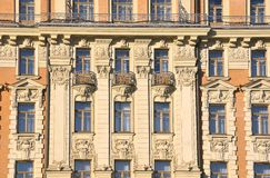 莫斯科,俄罗斯, 2016年11月, 22日 俄国场面:没人,旅馆`全国`的装饰的元素苏维埃前议院  库存照片
