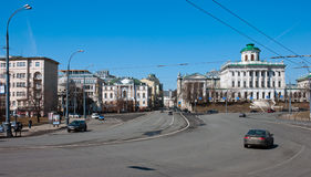 莫斯科,俄罗斯- 13 04 2015年 18世纪的老豪宅- Pashkov议院 目前,俄罗斯国家图书馆在Mosc 免版税库存照片