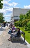 莫斯科,俄罗斯-12 06 2015年 人restin公园艺术Muzeon 公园位于区域23 46公顷 库存图片