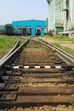 莫斯科,俄罗斯-可以13日2013年 莫斯科铁路集中处 st地方  库存图片
