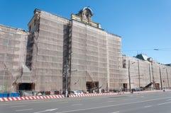 莫斯科,俄罗斯- 21 09 2015年 多科性博物馆 库存照片