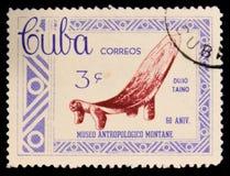 莫斯科,俄罗斯- 2017年7月15日:在古巴打印的邮票显示wo 图库摄影