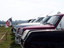 莫斯科,俄罗斯- 2008年7月15日:苏联葡萄酒汽车` Autoexotic 2008年` 免版税库存图片
