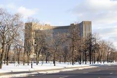 莫斯科,俄罗斯-旅馆波斯菊 库存图片