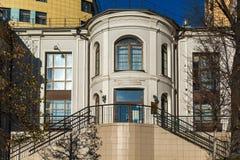 莫斯科,俄罗斯- 11月2 2017年 儿童的音乐学院22在MGIM的Shaporin命名了Schnittke 图库摄影