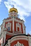 莫斯科,俄罗斯- 3月17 2018年 突然显现寺庙在突然显现车道的 免版税图库摄影