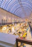 莫斯科,俄罗斯- 2015年12月8日:分泌树液Kitai-gorod的大商店 免版税库存图片
