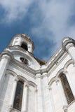 莫斯科,俄罗斯- 2017年3月18日:基督大教堂救主 图库摄影