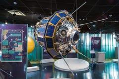 莫斯科,俄罗斯- 2016年5月31日:太空博物馆博览会 免版税库存图片