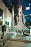 莫斯科,俄罗斯- 2016年5月31日:太空博物馆博览会 免版税图库摄影