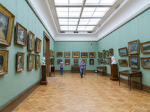 莫斯科,俄罗斯- 2015年11月5日:状态特列季尤欣美术画廊在莫斯科 库存图片