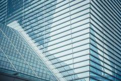 莫斯科,俄罗斯- 2016年9月13日:现代玻璃摩天大楼在商业中心 库存图片