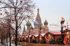 莫斯科,俄罗斯- 2016年12月23日:红场 库存图片