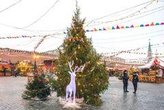 莫斯科,俄罗斯- 2016年12月23日:红场 库存照片