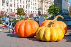 莫斯科,俄罗斯- 2015年10月06日:莫斯科秋天节日 库存照片