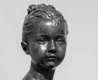 莫斯科,俄罗斯- 2016年2月16日:雕象在普希金博物馆 免版税库存图片
