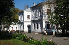 莫斯科,俄罗斯- 2015年9月23日:Romanovs的庄园 图库摄影