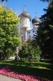 莫斯科,俄罗斯- 2015年9月23日:Romanovs的庄园 库存图片