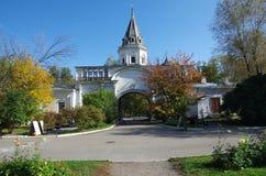 莫斯科,俄罗斯- 2015年9月23日:Romanovs的庄园 免版税库存图片