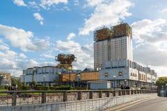 莫斯科,俄罗斯10月01日 2016年 俄罗斯科学院主席团大厦  库存照片