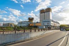 莫斯科,俄罗斯10月01日 2016年 俄罗斯科学院主席团大厦  库存图片