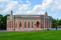 莫斯科,俄罗斯- 2016年6月08日 Tsaritsyno博物馆庄园的第二骑兵军  免版税图库摄影