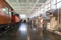 莫斯科,俄罗斯- 3月11 2017年 莫斯科铁路的博物馆 库存图片