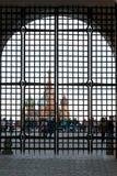 莫斯科,俄罗斯- 20018 9月30, :在红场thr的看法 免版税图库摄影