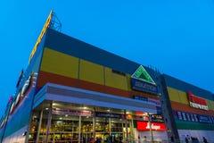 莫斯科,俄罗斯- 5月02 2016年 Gorod -购物和一个娱乐中心在Lefortovo 免版税库存照片