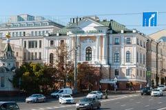 莫斯科,俄罗斯- 09 21 2015年 苏联亚历山大希洛夫的全国艺术家画廊  免版税库存照片