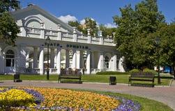 莫斯科,偏僻寺院剧院 库存照片