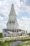 莫斯科,教会在Kolomenskoye 免版税库存图片