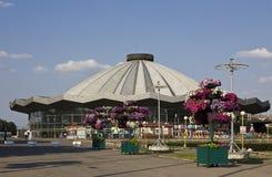 莫斯科,新的马戏 库存图片