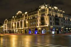 莫斯科,旅馆 图库摄影