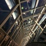 莫斯科,桥梁,钢结构 免版税库存照片