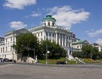 莫斯科,状态俄国图书馆( 免版税库存照片
