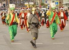 莫斯科,节日 免版税库存照片