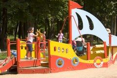 莫斯科, Cherkizovsky公园 免版税图库摄影