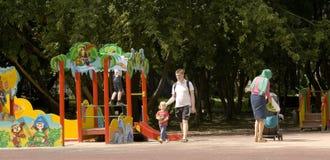 莫斯科, Cherkizovsky公园 图库摄影