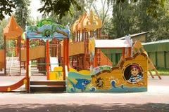 莫斯科, Cherkizovsky公园 库存图片