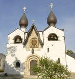 莫斯科, Marfo-Mariinsky女修道院 免版税图库摄影