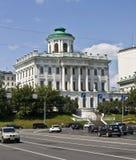 莫斯科, Pashkov房子  免版税库存图片