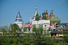 莫斯科, vernisage在Izmaylovo 库存照片