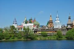 莫斯科, vernisage在Izmaylovo 免版税库存照片
