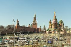 莫斯科/俄罗斯- 04 E 库存照片