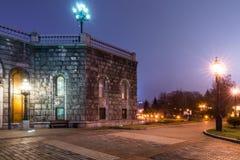 莫斯科 基督大教堂的疆土救主 的treadled 免版税库存图片