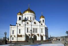 莫斯科 基督教会  图库摄影