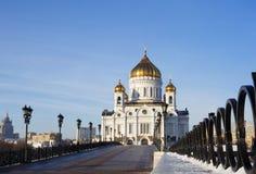 莫斯科 基督教会  免版税库存照片