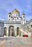 莫斯科 大教堂基督救主 库存图片